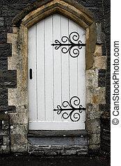 antiguo, puerta