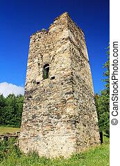antiguo, torre