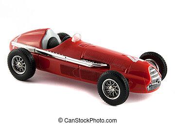 antik bil, modell
