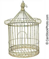 antik, birdcage