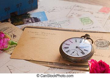 antik, felad, óra