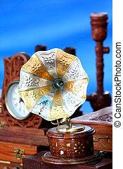 antik, gramofon