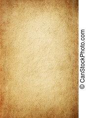 antik, gulagtige, pergament