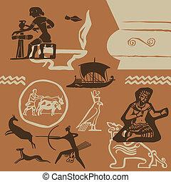 antik időmegállapítás