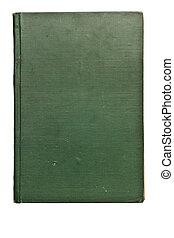 antik, könyv, alapján, a, 1800\'s, elszigetelt, white, háttér