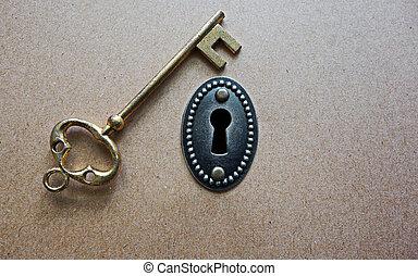 antik, kulcs