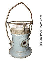 antik, lampe orkan