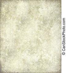 antik, megkorbácsol, keret, szürke, pergament, vagy
