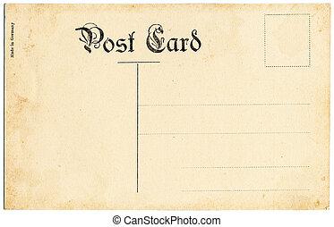 antik, postkort