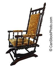 antik, rokke stol