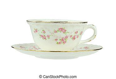 antik, te kop, og, underkop