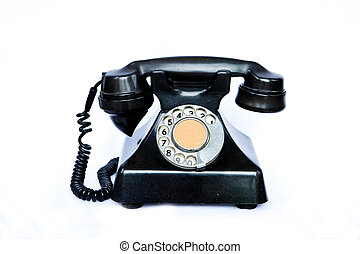 antik, telephone.