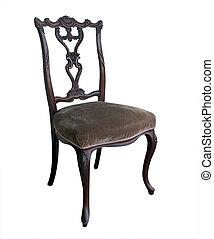 antikes , aufwendig, stuhl