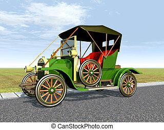 Antikes auto Illustrationen und Stock Art. 2.390 Antikes auto ...