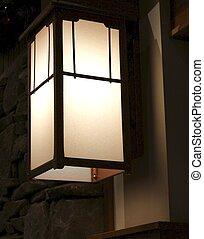 antikes , inneneinrichtung, licht