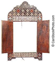 antikes , marokkanisch, spiegel