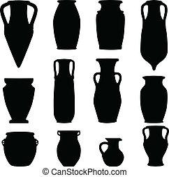 antikvitás, terracotta, agyagművesség