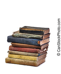 antikvitet, böcker