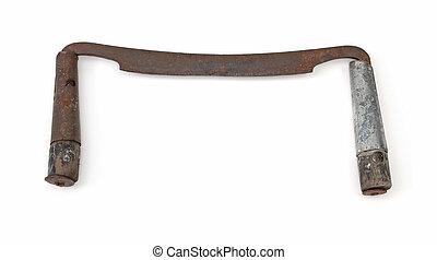 antikvitet, drawknife