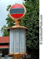 antikvitet, drivmedel pumpa