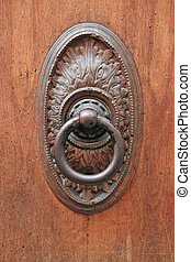 antikvitet,  elegant, dörr, portklapp