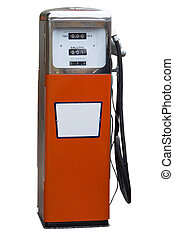 antikvitet, gas pumpa