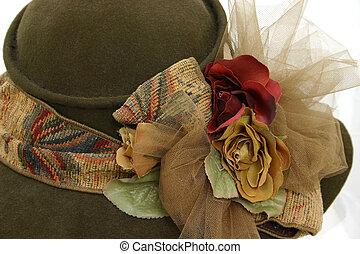 antikvitet, hatt