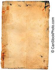 antikvitet, papper