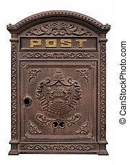 antikvitet, postbox