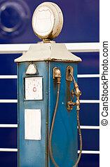 antikvitet, pump., gas