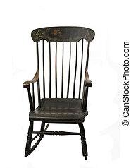 antikvitet, rocking stol