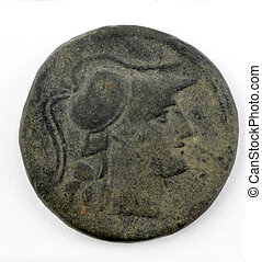 antikvitet, romersk, mynt
