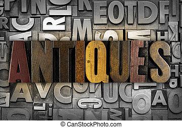 antikviteterne