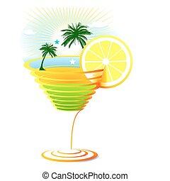 antilles, cocktail