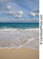 antilles, turquoise, plage