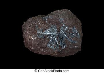 antimonite, pedra, mineral