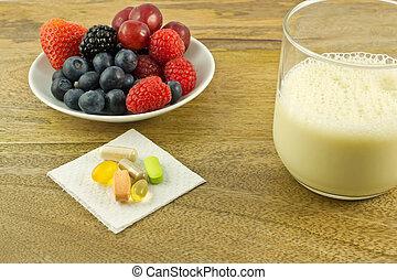 antioxidantes, tabla