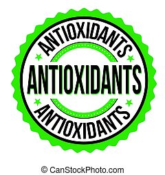 Antioxidants emblem