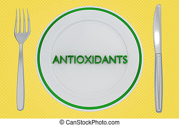 ANTIOXIDANTS - health concept