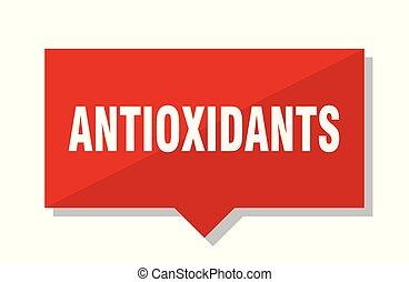 antioxidants red tag