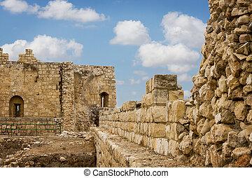 Antipatris fortress . - Antipatris fortress built by Herod...
