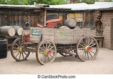 Antique american cart