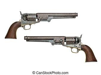 antique american Colt Navy percussion revolver