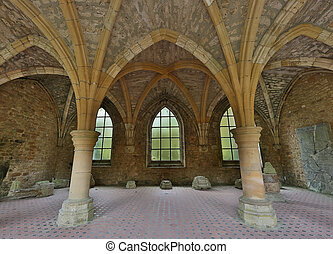 Antique arches - Old arches of the famous 18th century Orval...