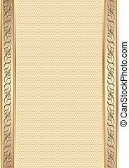 background - antique background with decorative border