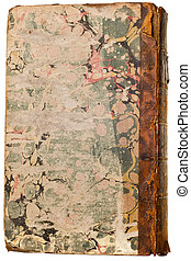Antique book isolated
