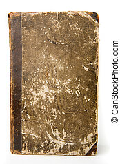 Antique Book - Antique book on a white background