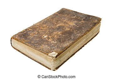 Antique Book - Antique book isolated on a white background
