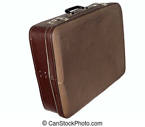 Antique brown trunk