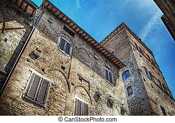 antique building in Florence